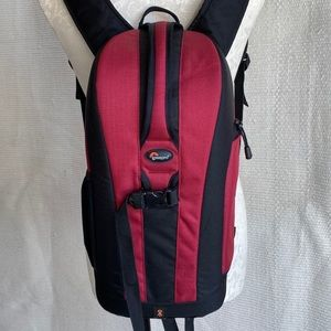 Lowepro Camera Bag Flipside 200 Backpack Red NWOT